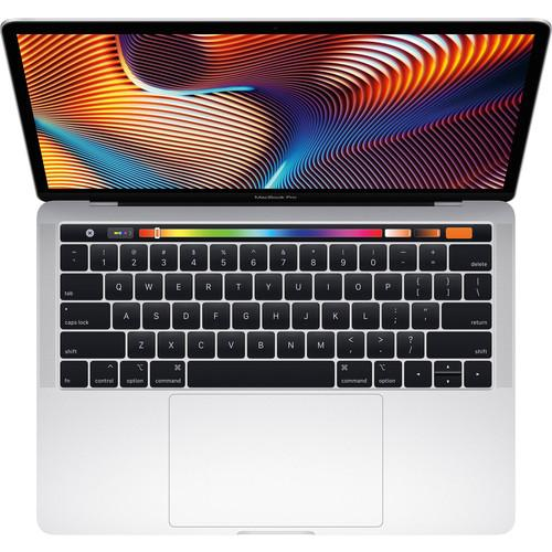 Apple MUHQ2LL/A MacBook Pro 13.3 Inch with Touch Bar - Intel Core i5 - 8GB Memory - 128GB SSD - Silver