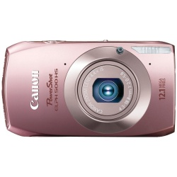 Powershot 500 HS 12.1 Megapixel 4.4x Optical Zoom Camera (Pink)