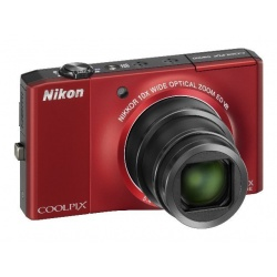 Nikon Coolpix S8000 14.2 MP Digital Camera (Red)