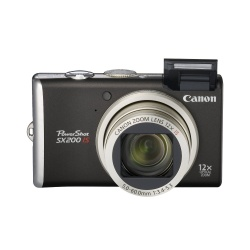 PowerShot SX200 IS - 12 Megapixel 12x Optical Digital Camera (Black)