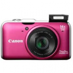 Canon PowerShot SX230 HS 12.1 MP Digital Camera (Red)