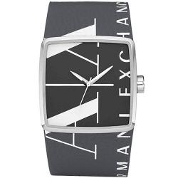 Armani Exchange Leather Strap 50M Mens Watch AX6006