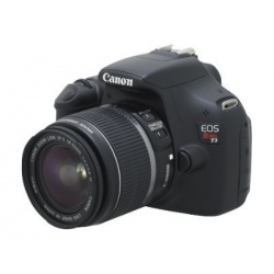 Canon EOS Rebel T3 Digital SLR Camera with Canon EF-S 18-55mm IS II lens (Black)