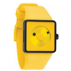 Nixon Men's Plastic Analog Yellow Dial Watch A116-250