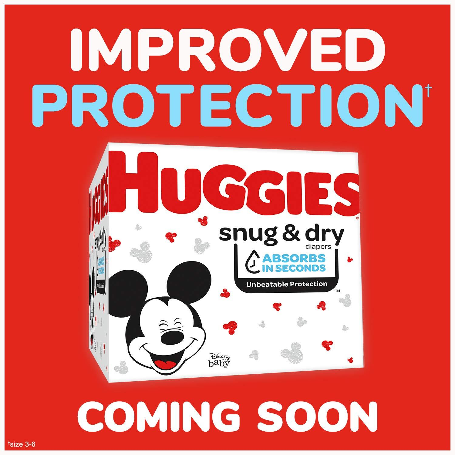 Huggies Snug & Dry Diapers, Size 3, 80 Count