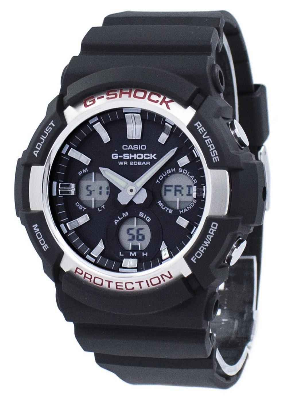 Casio G-Shock Shock Resistant Tough Solar GAS-100-1A GAS100-1A Men's Watch
