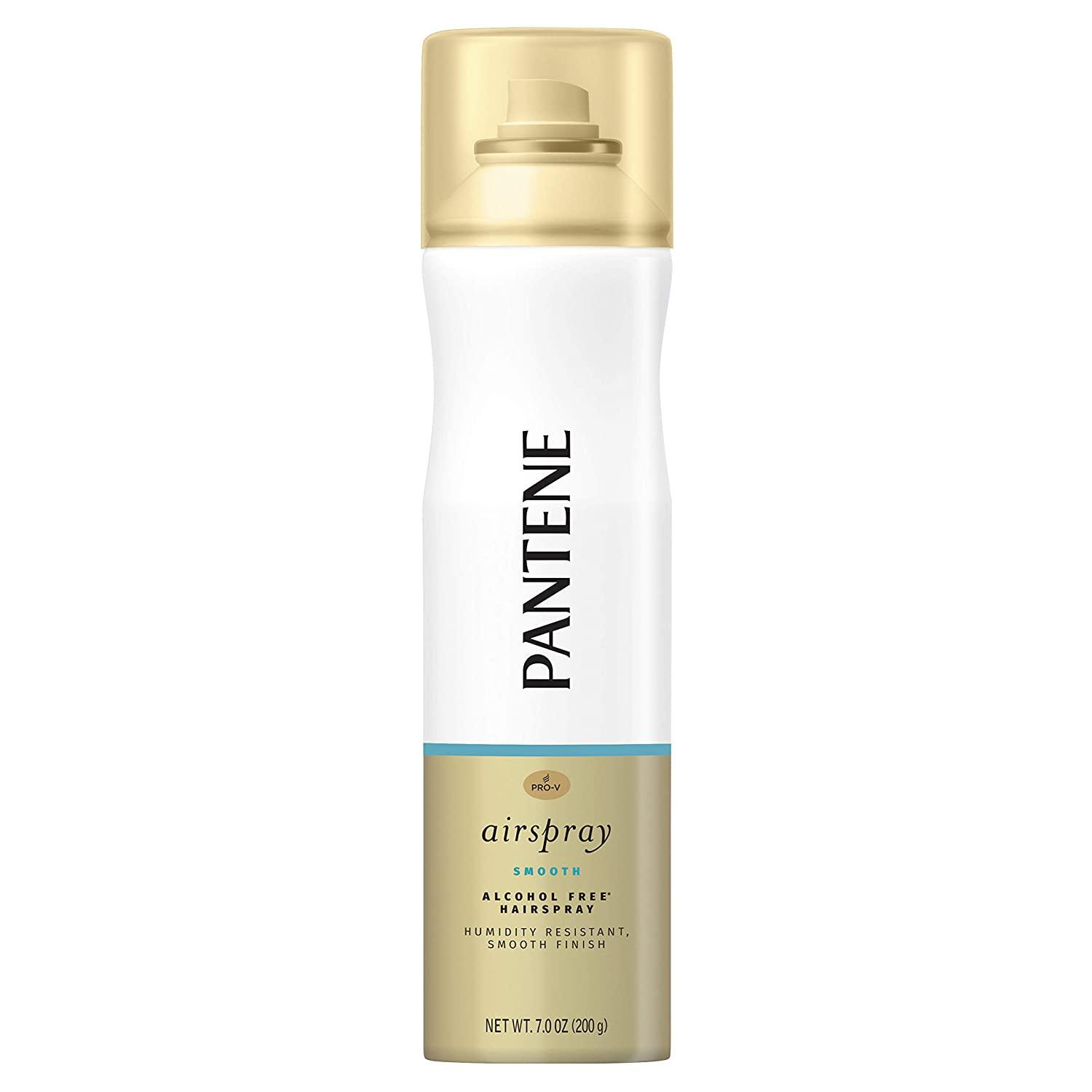 Pantene Pro-V Smooth Airspray Humidity Resistant Smooth Finish Hairspray, 7 oz