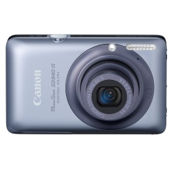 PowerShot SD940 IS Digital Camera - 12.1 Megapixel 4x Optical Digital Camera (Blue)