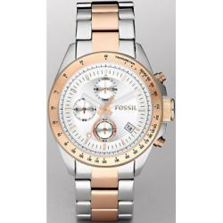 Fossil Decker Chronograph Two-Tone Mens Watch CH2686