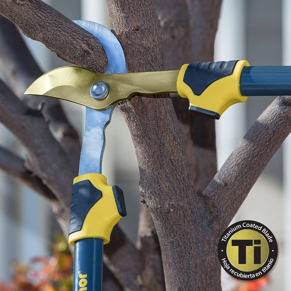 "Melnor 27"" Bypass Loppers with Titanium Coated Blade, Cuts 1.5"" Branches"