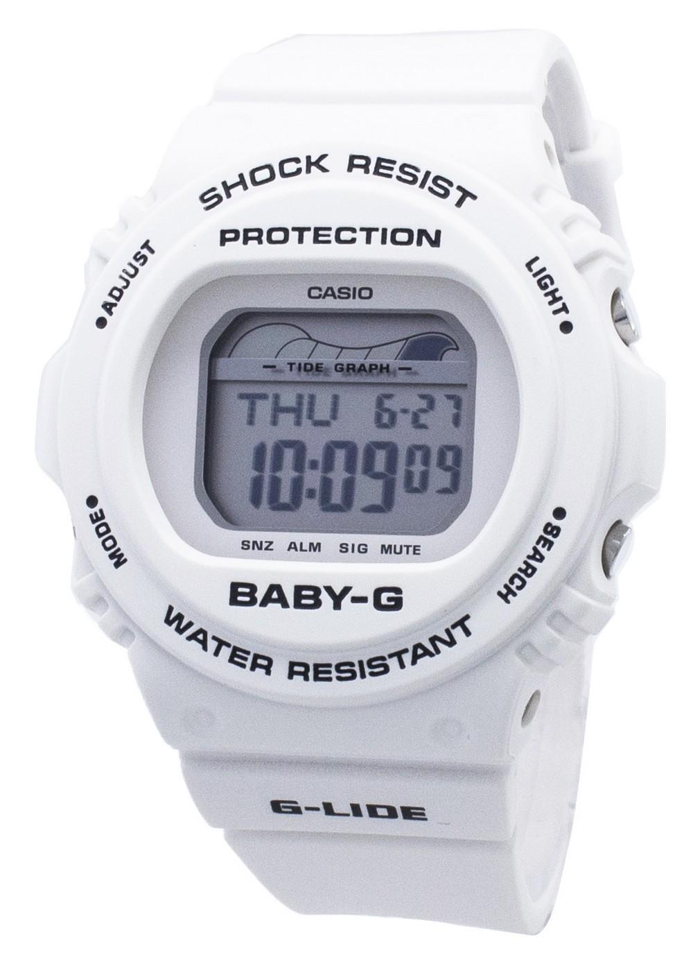 Casio Baby-G G-Lide BLX-570-7 BLX570-7 Shock Resistant 200M Women's Watch
