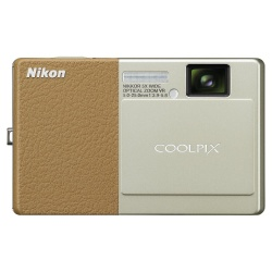 CoolPix S70 - 12 Megapixel 5x Optical VR Digital Camera (Brown)