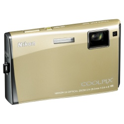 Coolpix S60 Digital Camera -10.0 Megapixel 5x Optical VR Digital Camera (Platinum Bronze)