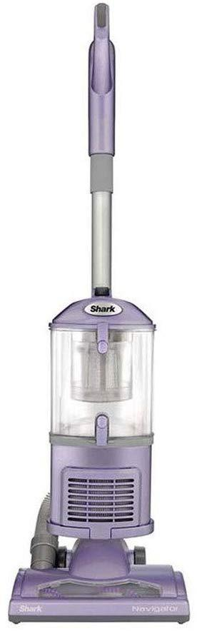 Shark NV352 Navigator Upright Vacuum for Carpet and Hard Floor with Lift-Away Handheld HEPA Filter, and Anti-Allergy Seal, Lavender