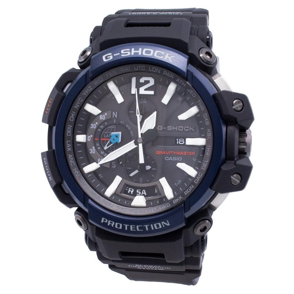 Casio G-Shock GRAVITYMASTER GPW-2000-1A2 World Time Solar 200M Men's Watch