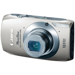 Powershot 500 HS 12.1 Megapixel 4.4x Optical Zoom Camera (Silver)