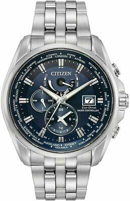 Citizen Eco-drive At9030-80l Men's 44mm World Time Atomic Watch