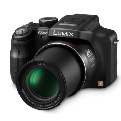 Panasonic Lumix DMC-FZ47 12.1 MP Digital Camera (Black)