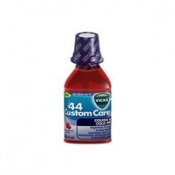 Vicks 44 Custom Care Cough and Cold PM, Berry Burst - 6 oz