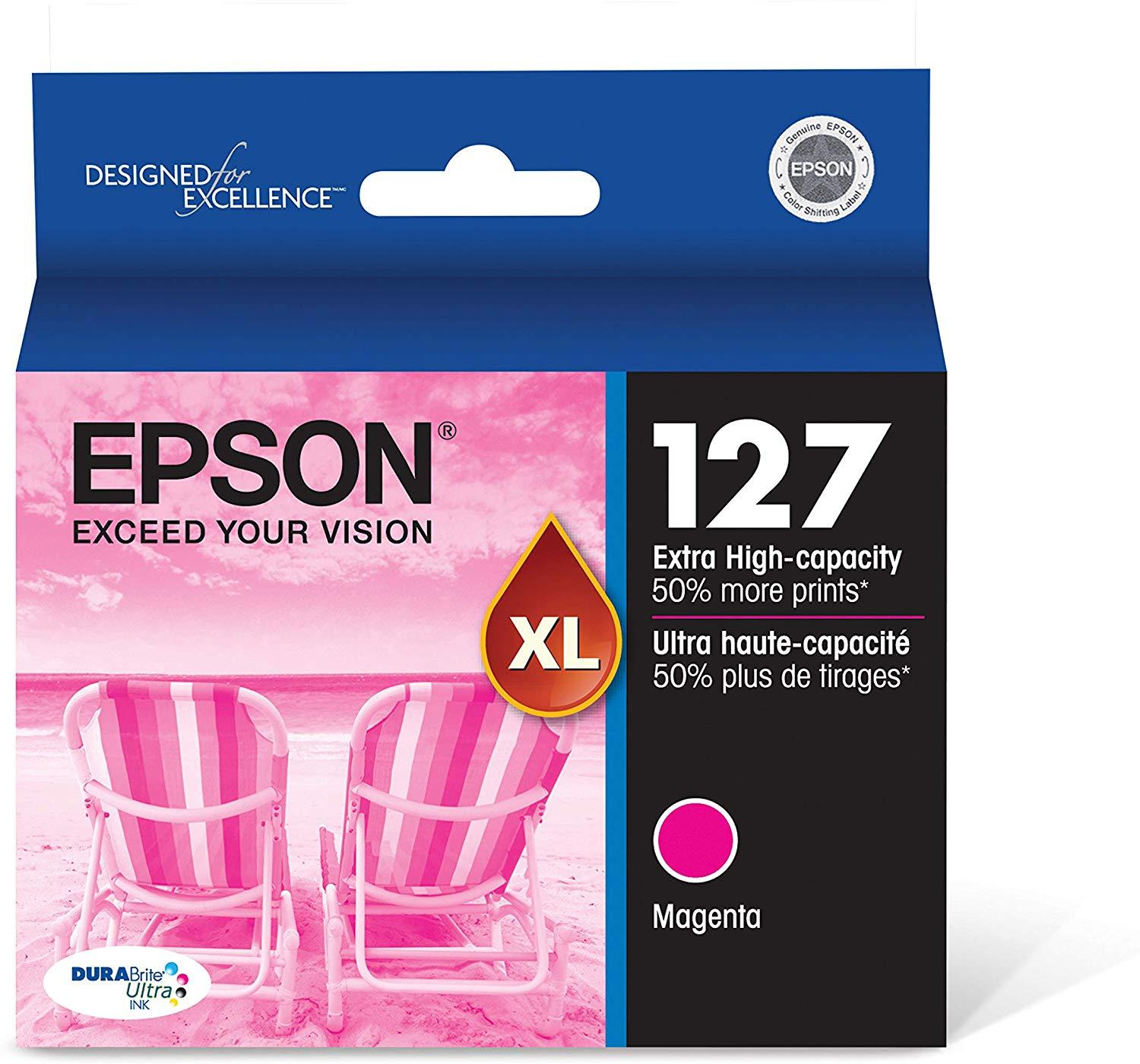Epson T127320 127  Magenta DuraBrite  Ultra Ink Cartridge