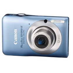 PowerShot SD1300-IS 12.1 Megapixel 4x Optical/4x Digital Zoom Digital Camera (Blue)