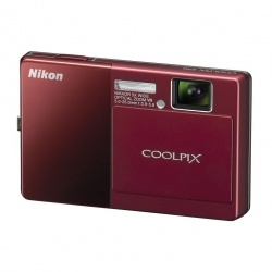 CoolPix S70 - 12 Megapixel 5x Optical VR Digital Camera (Red)