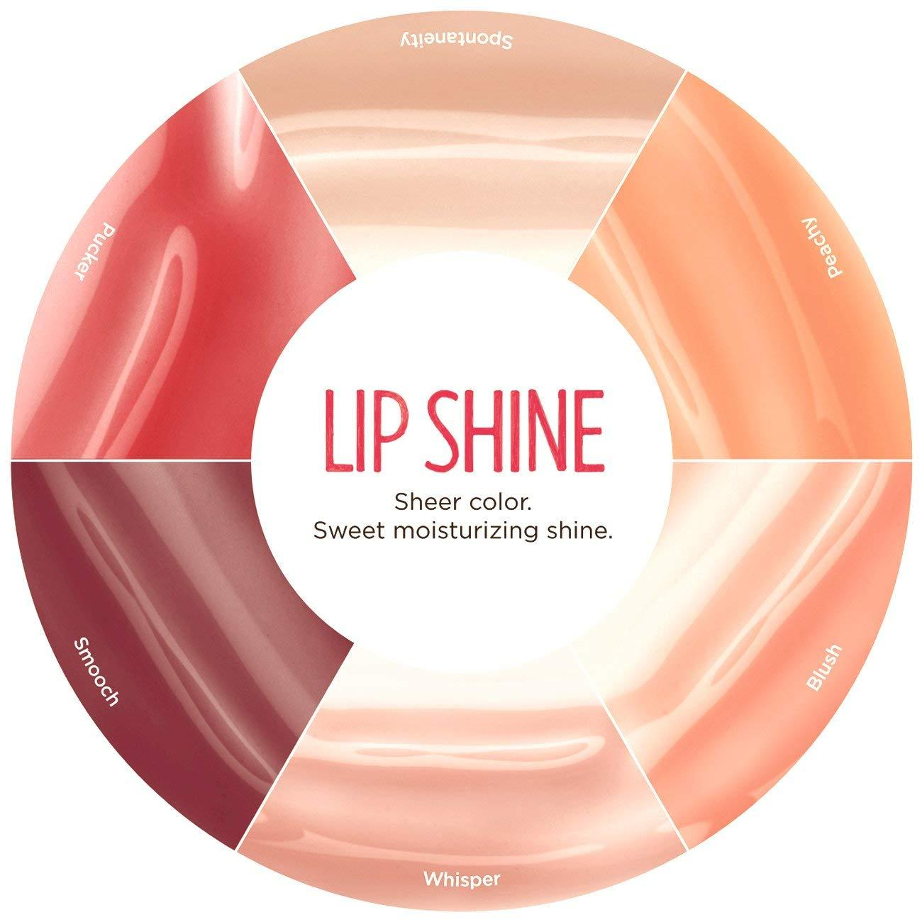 Burt's Bees 100% Natural Moisturizing Lip Shine, Peachy, 0.5 Ounce (1 Count)