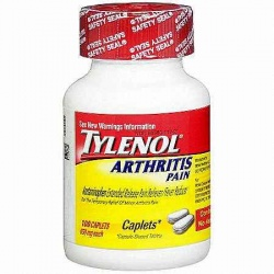 Tylenol Arthritis Pain Acetaminophen Extended Release Pain Reliever/Fever Reducer Caplets Caplets 100 Count