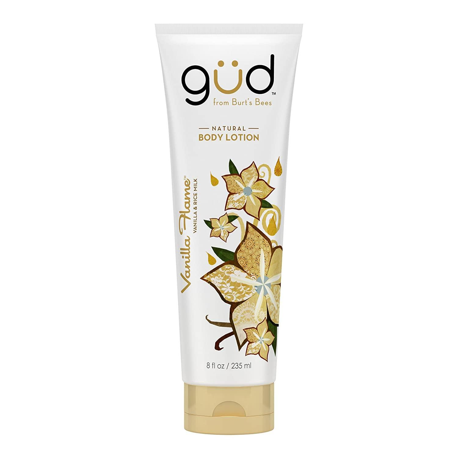 Gud Vanilla Flame Natural Body Lotion, 8 Fluid Ounces