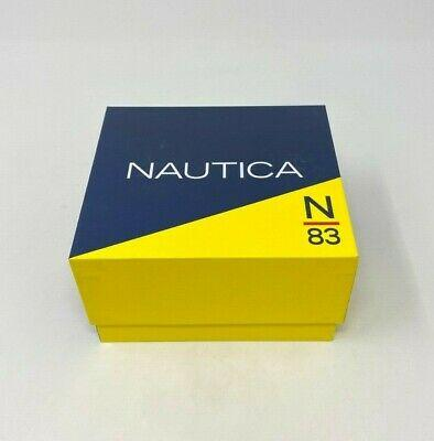 Nautica NAPABVC01 Men's 43mm Stainless Steel Watch W/ Extra Band