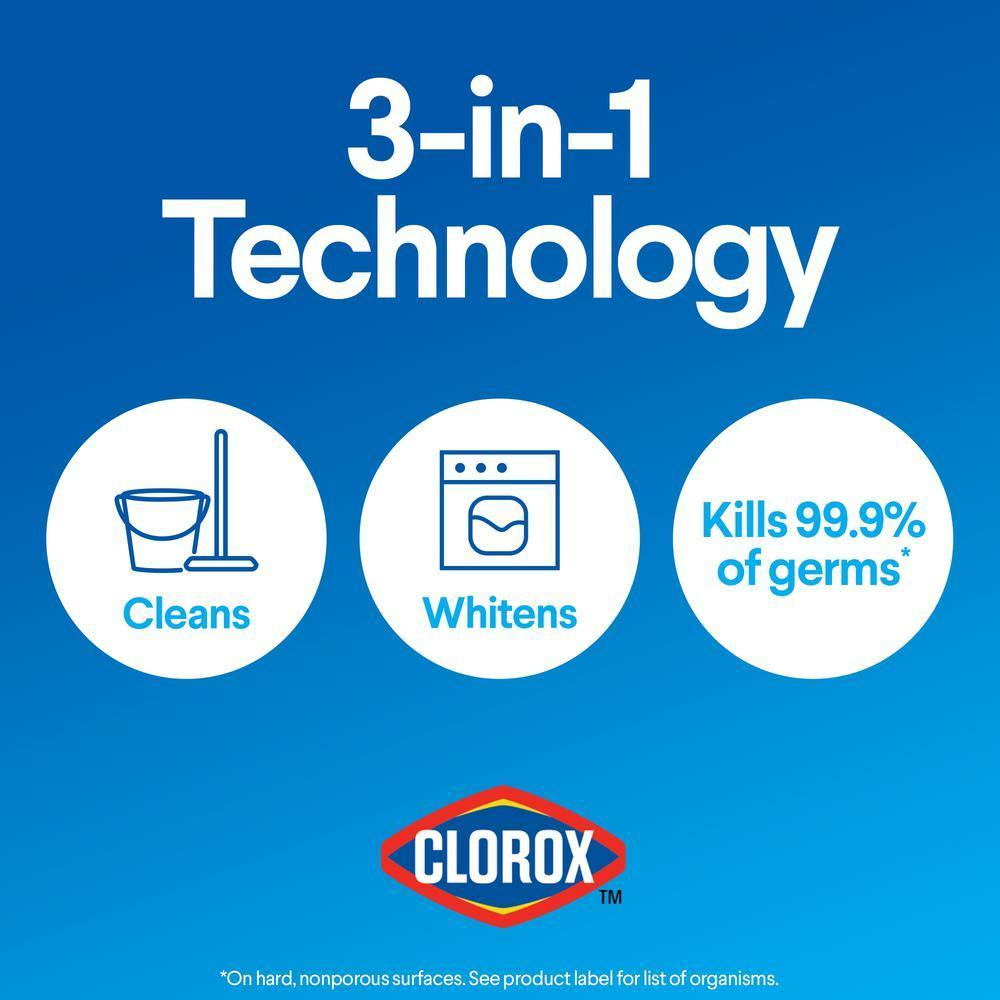 Clorox 121 oz. Regular Concentrated Liquid Bleach (2 Pack)