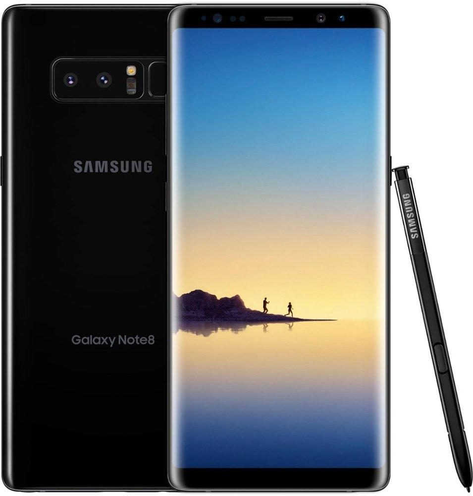 Samsung Galaxy Note8 with 64GB Memory Cell Phone (Unlocked) - Midnight Black - SM-N950U