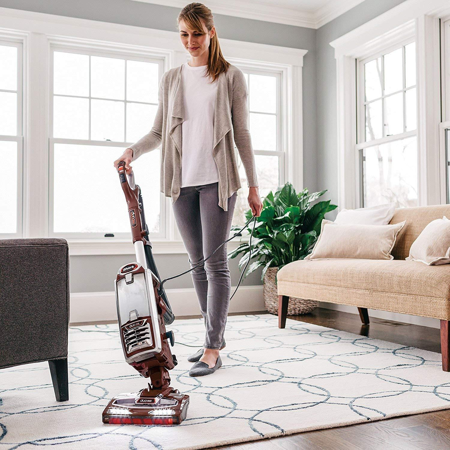 Shark NV800 DuoClean Powered Lift Away Speed Upright Vacuum (Renewed)