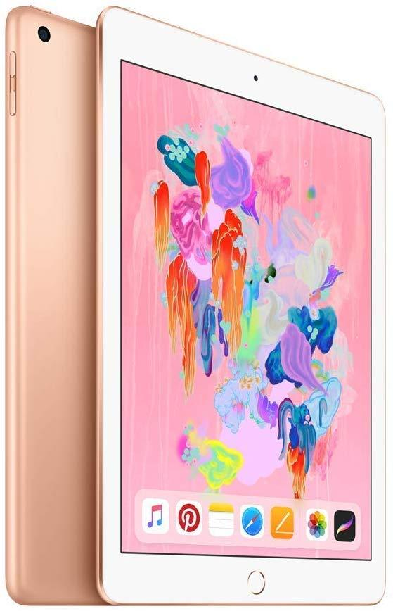 Apple MRJN2LL/A iPad 9.7 Inch Wi-Fi only 32GB - Gold (2018)