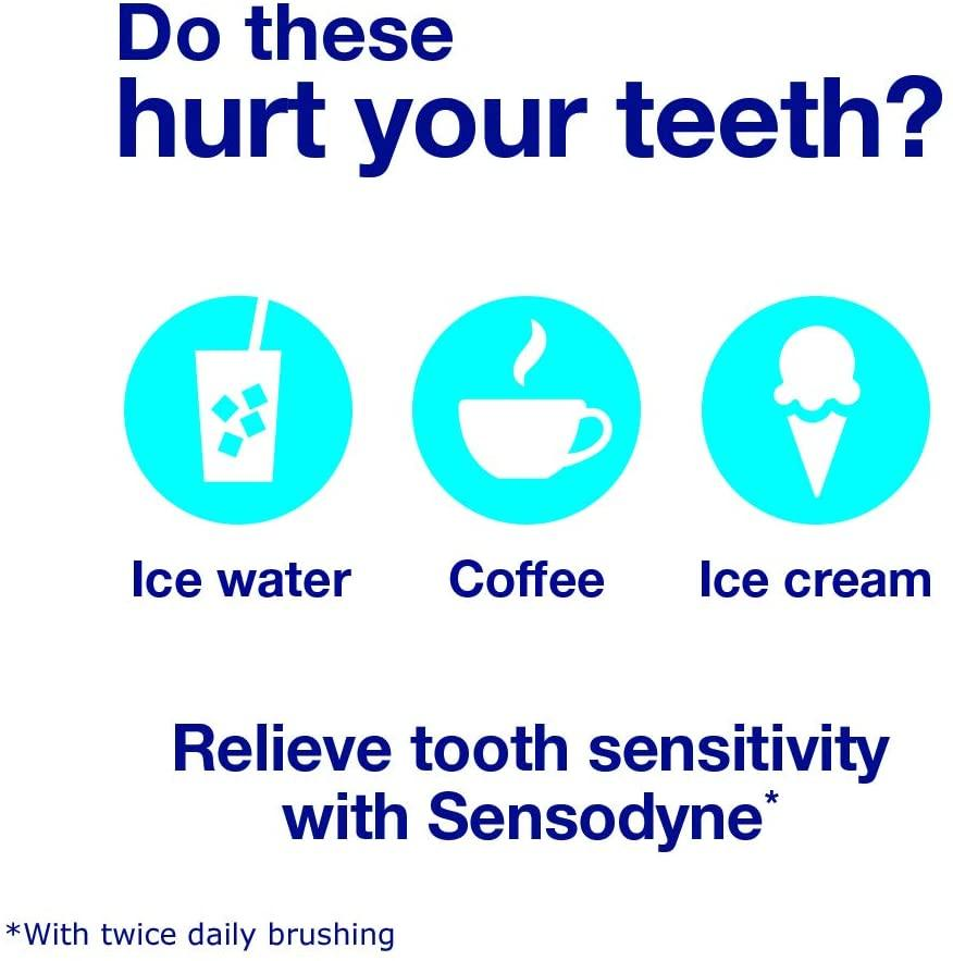 Sensodyne Complete Protection Sensitive Toothpaste For Gingivitis, Sensitive Teeth Treatment, Extra Fresh, 3.4 Ounces