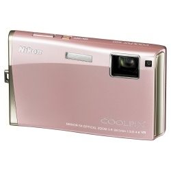 Coolpix S60 Digital Camera -10.0 Megapixel 5x Optical VR Digital Camera (Pink)