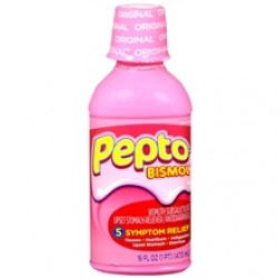 Pepto-Bismol Upset Stomach Reliever/Antidiarrheal Liquid Original - 16 oz