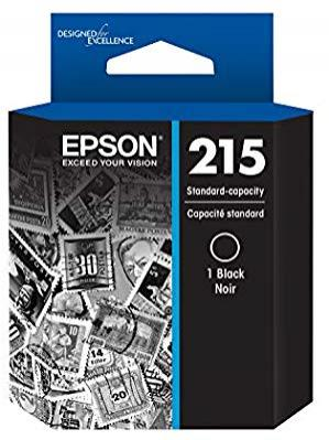 Epson T215120 215 BLACK Standard-capacity Black Ink Cartridge