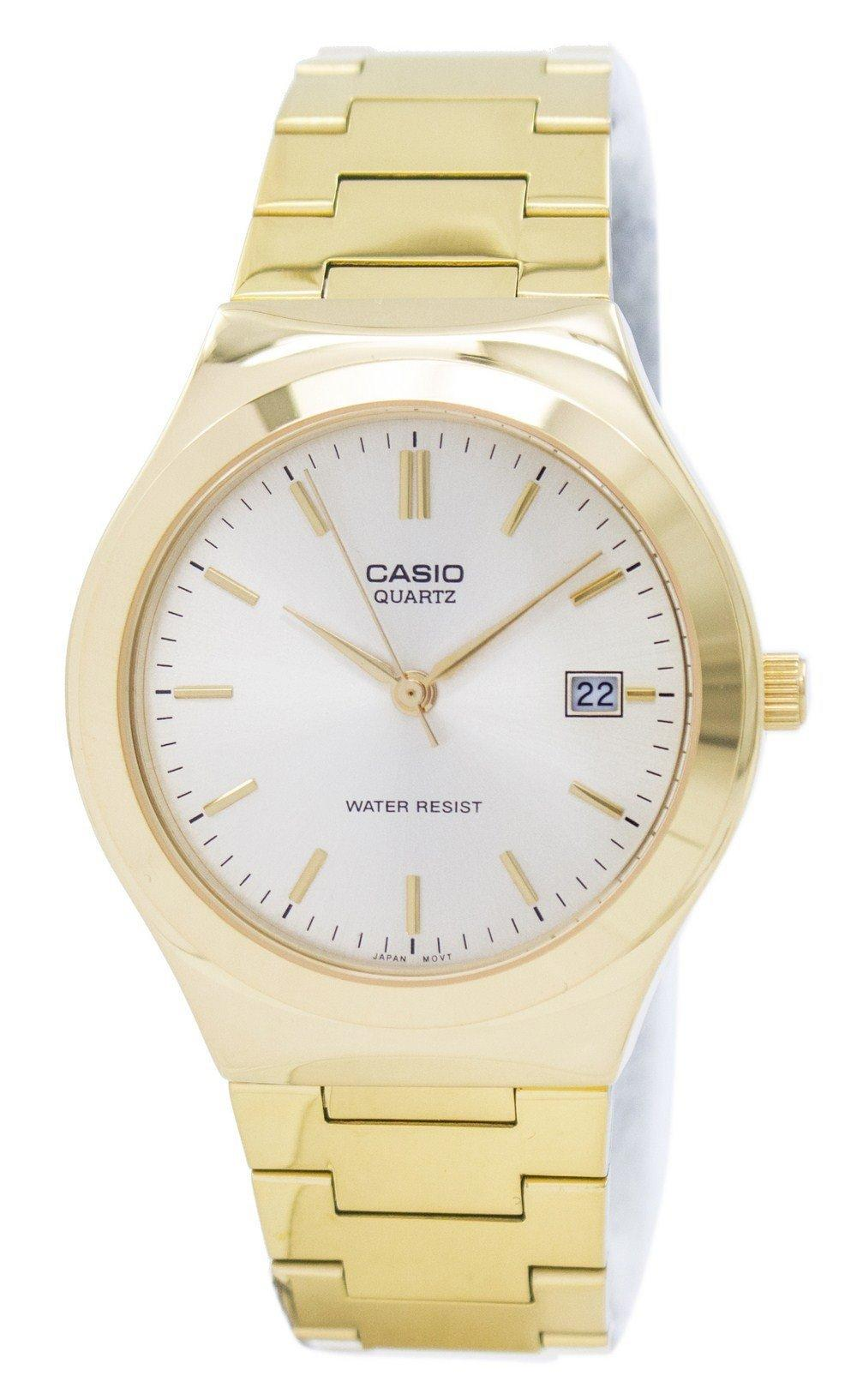 Casio Quartz Analog Gold Tone Dial MTP-1170N-9ARDF MTP1170N-9ARDF Men's Watch