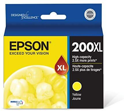 Epson T200XL420 200  DURABrite Ultra Yellow High Capacity Cartridge Ink
