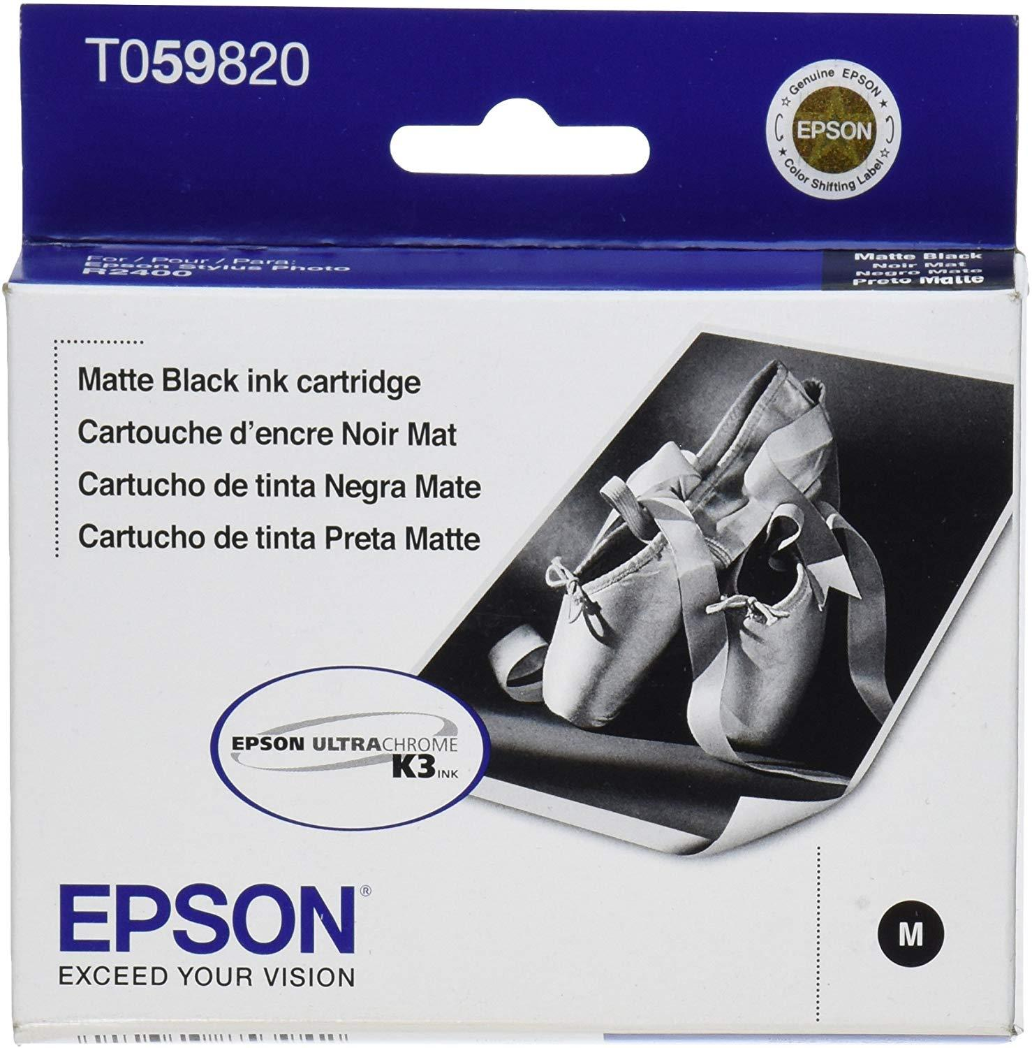 Epson T059820 59 Matte Black Ink Cartridge