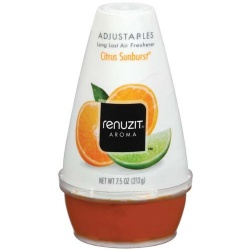 Renuzit Citrus Sunburst Adjustable Freshener 7.5 oz