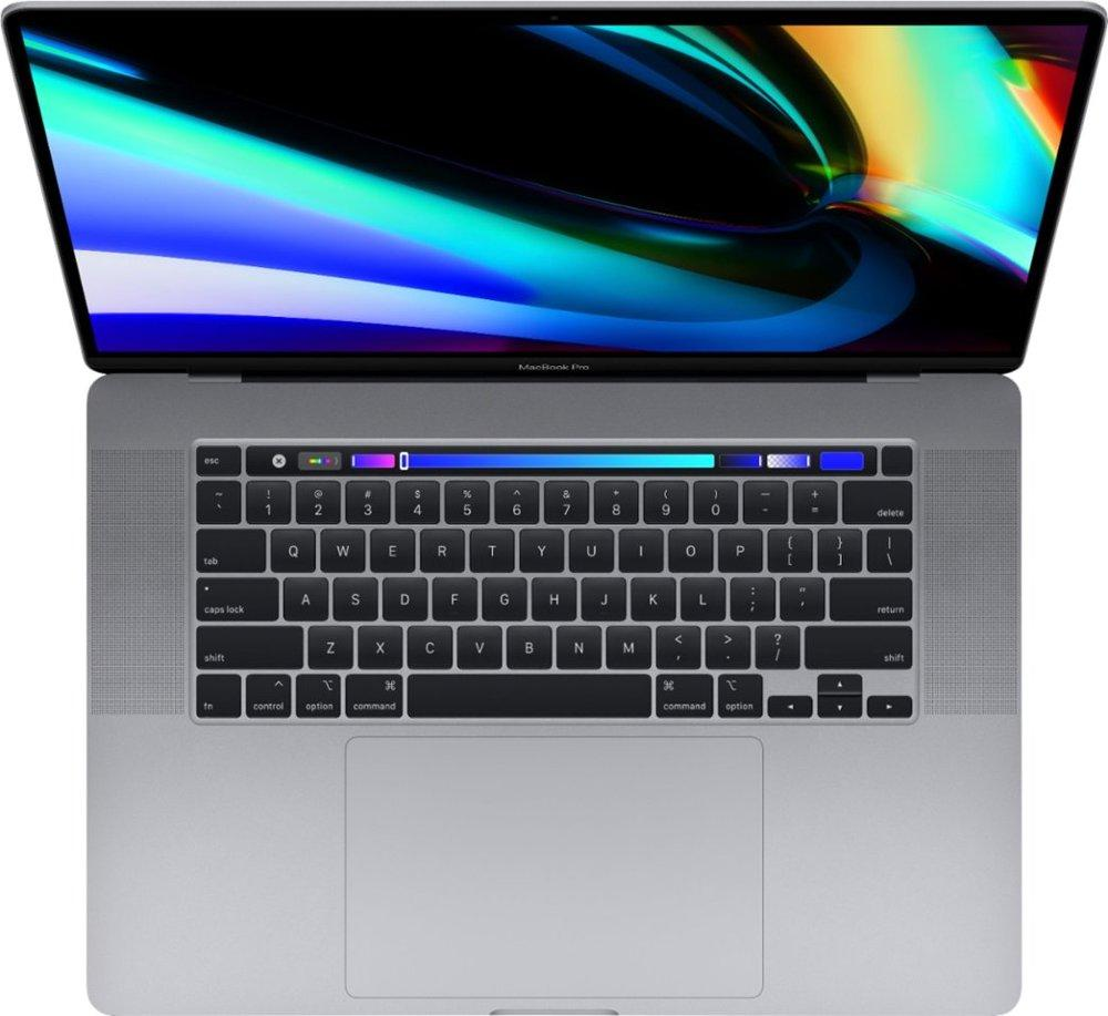 Apple MVVK2LL/A MacBook Pro 16 Inch with Touch Bar - Intel Core i9 - 16GB Memory - AMD Radeon Pro 5500M - 1TB SSD (Latest Model) - Space Gray