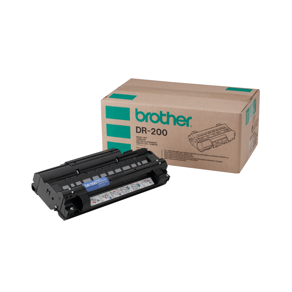 Brother DR200 Drum Unit - Retail Packaging