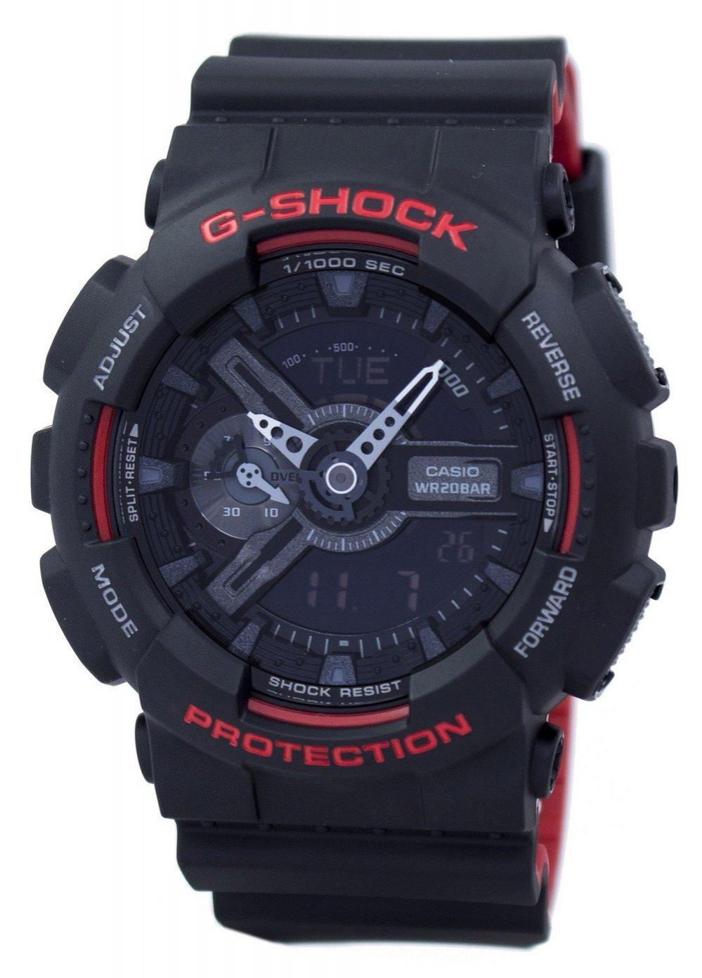 Casio G-Shock Special Color Shock Resistant Analog Digital GA-110HR-1A GA110HR-1A Men's Watch