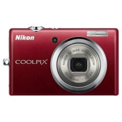 CoolPix S570 12 Megapixel 5x Optical Digital Camera (Red)