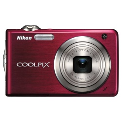 Coolpix S630R Digital Camera - 12.2 Megapixel 7x Optical (Ruby Red)