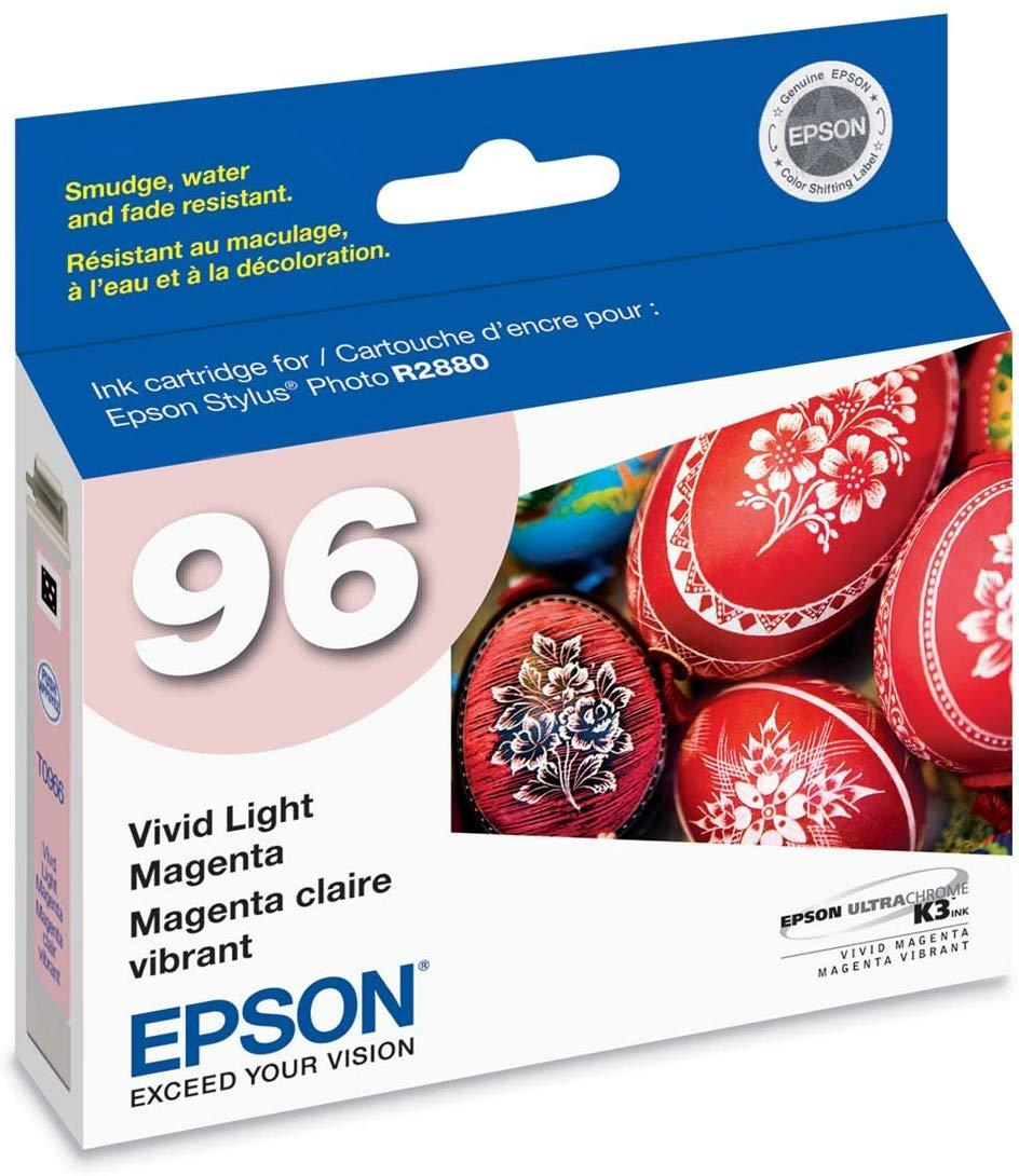 Epson T096620 96  Light Magenta Claria Hi-Definition High Capacity Cartridge Ink