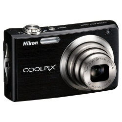 Coolpix S630B Digital Camera - 12.2 Megapixel 7x Optical (Jet Black)