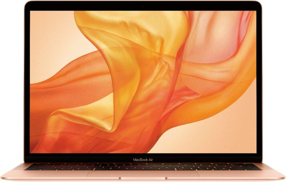 Apple MVFN2LL/A MacBook Air 13.3 Inch Laptop with Touch ID - Intel Core i5 - 8GB Memory - 256GB Solid State Drive - Gold (Latest Model)